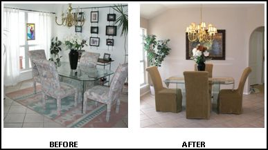 10 ways to prepare your property for a spring sale the - Declutter before and after ...